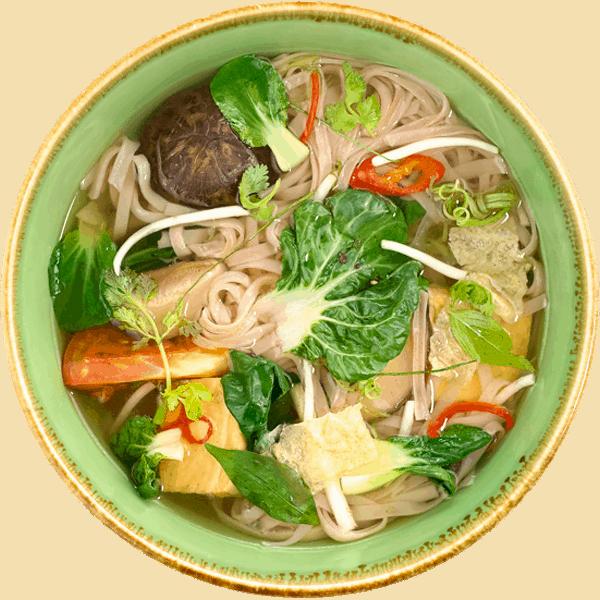 Vegetarian Vietnamese Pho by NamNam