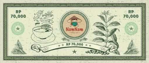 NamNam Indonesia Gift Voucher