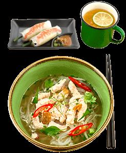 Vietnamese Lunch Set in Takashimaya by NamNam