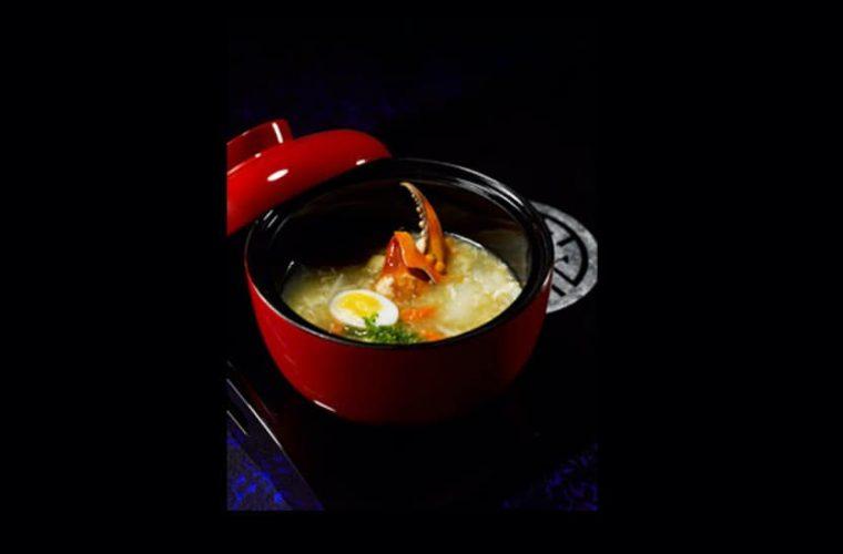Asparagus Soup with Mud Crab, Súp Măng cua