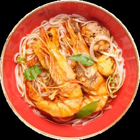 Vietnamese Ocean Caught Jumbo Prawn Mekong Noodle Soup